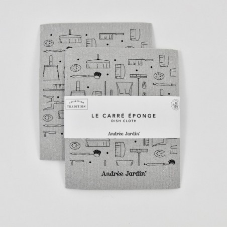 Carré éponge (lot de 2)