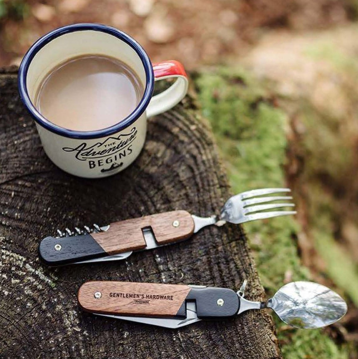 """Couverts pour camping """"Gentlemen's Hardware"""""""