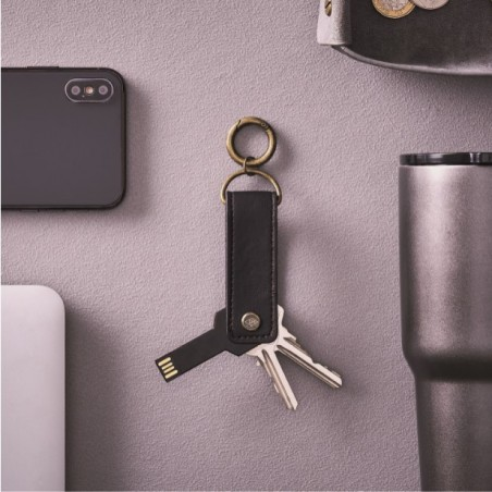 Porte-clés avec clé USB flash