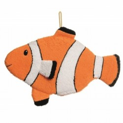 Gant de toilette poisson clown