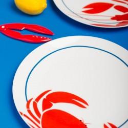 Coffret de 4 assiettes - Cuisine de la Mer