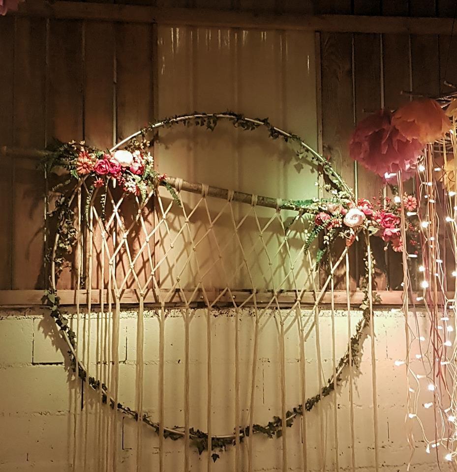 photo de la décoration de mariage
