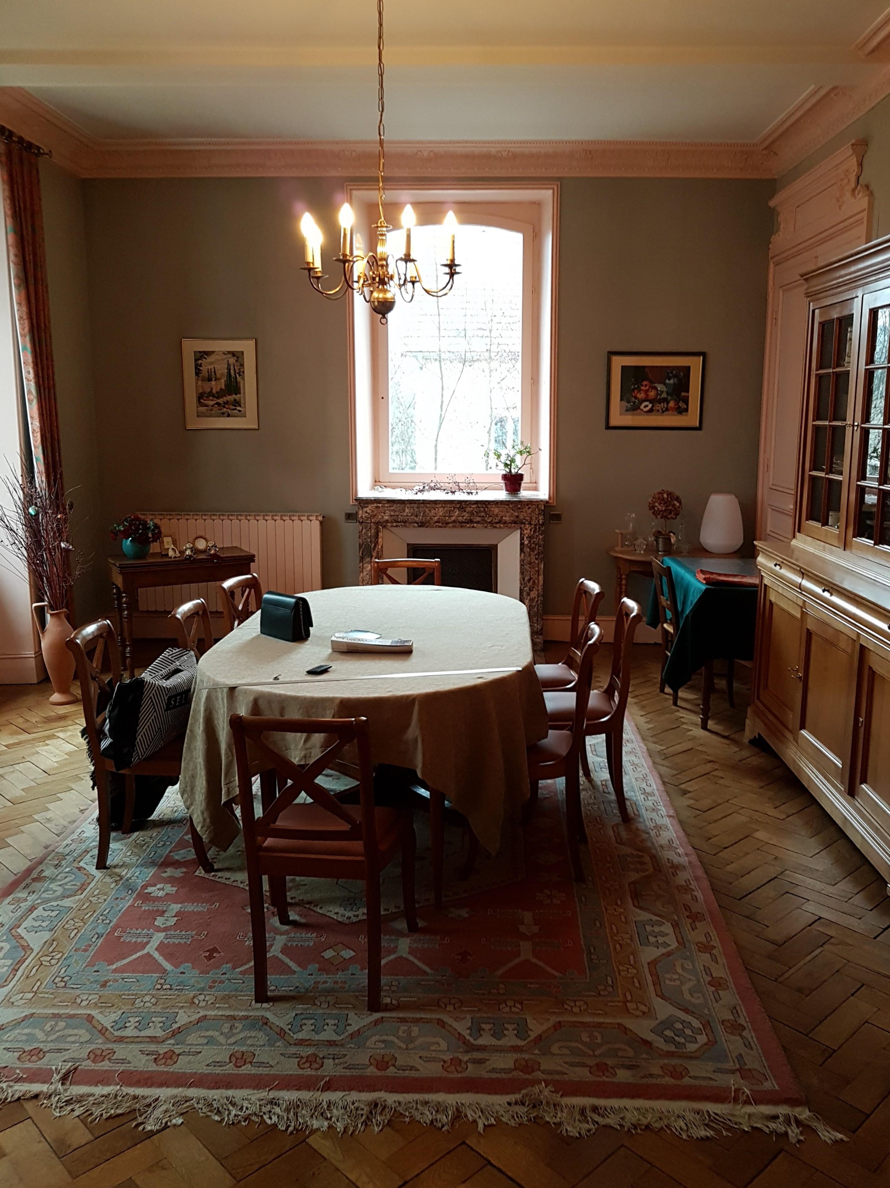 photo avant la rénovation du salon / salle à manger